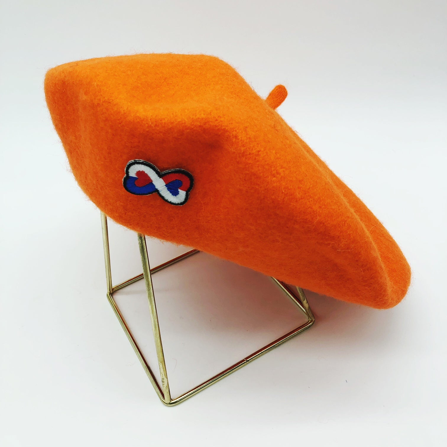 béret-orange-coeur-tricolore-french-frenchie-laine-gili