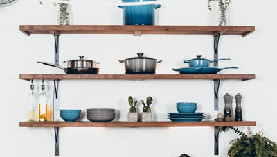 5 Different Ways to Style Floating Shelves