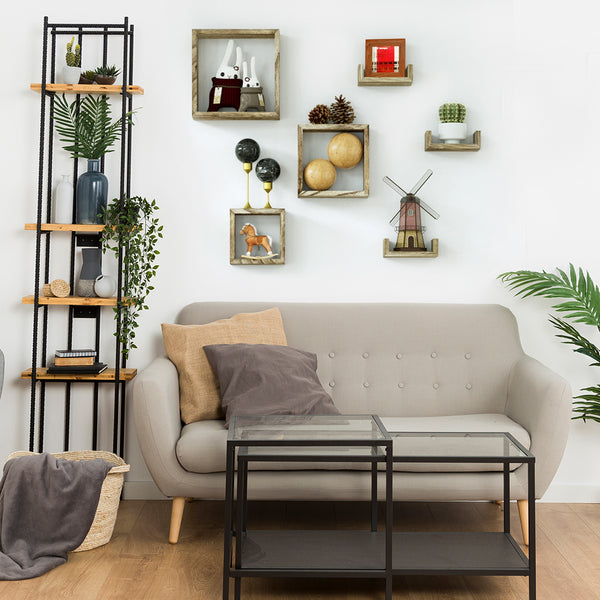 Floating wall shelve
