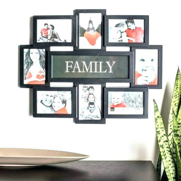 Wall decorative photo frames