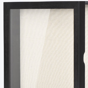 Love-KANKEI Shadow Box Frame 11'' x 11'' Black
