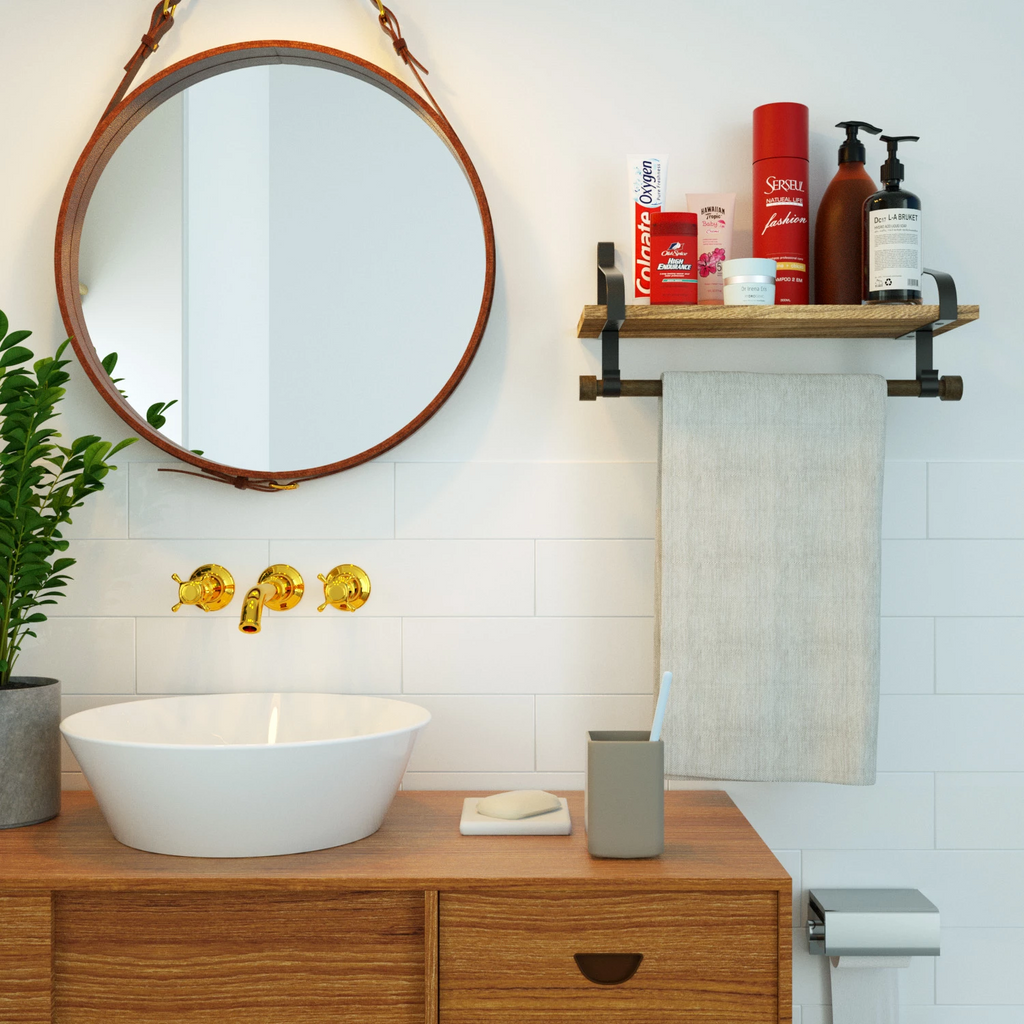 bathroom shelve