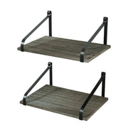 Love-KANKEI Floating Shelves Wall Mount  Set of 2