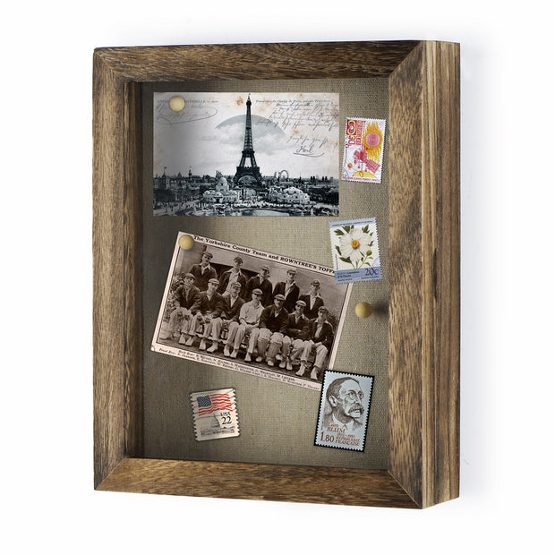 "Love-KANKEI Shadowbox Picture Frame Case 8""x10"""