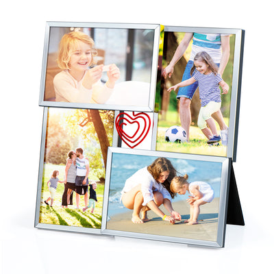 Love-KANKEI Table Top Display Photo Frame 4-Opening