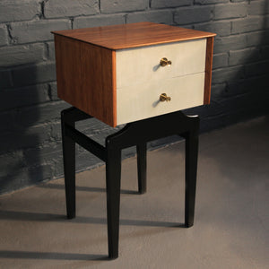 1960s Limelight Bedside table - Jackdaw living