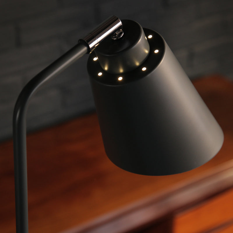 Dark Grey Floor Lamp - Jackdaw Living