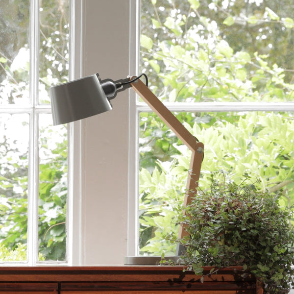 Grey Desk Lamp - Jackdaw Living