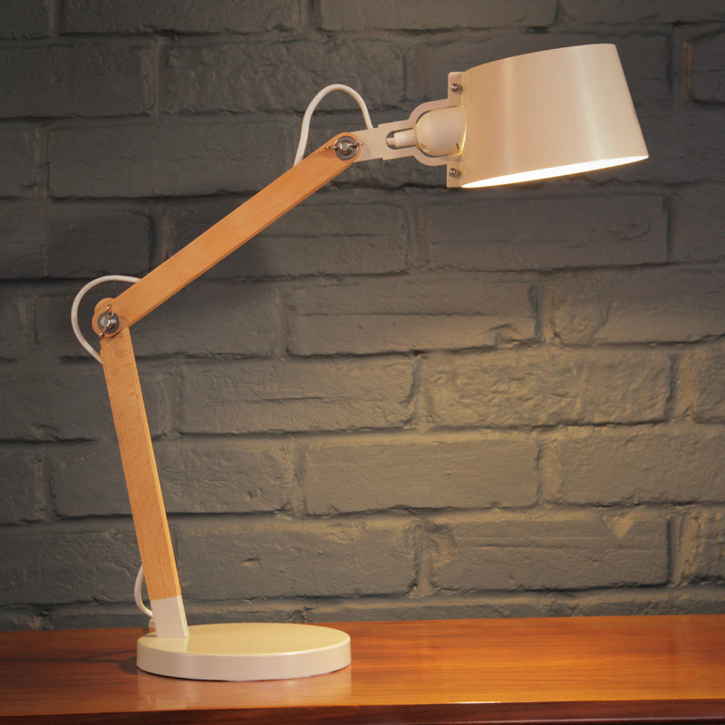 Soft White Desk Lamp - Jackdaw Living