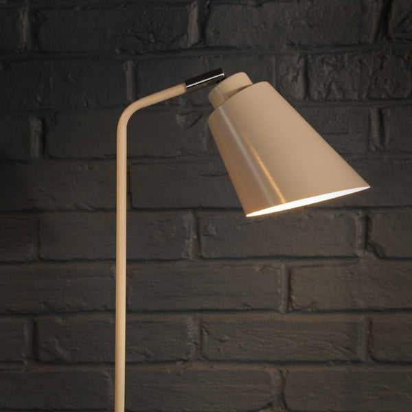 Soft White Floor Lamp - Jackdaw Living