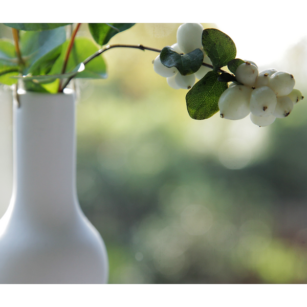 White Hanging Vase - Jackdaw Living