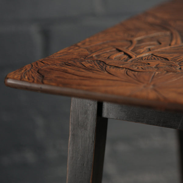 Vintage Hand Carved Table - Jackdaw Living