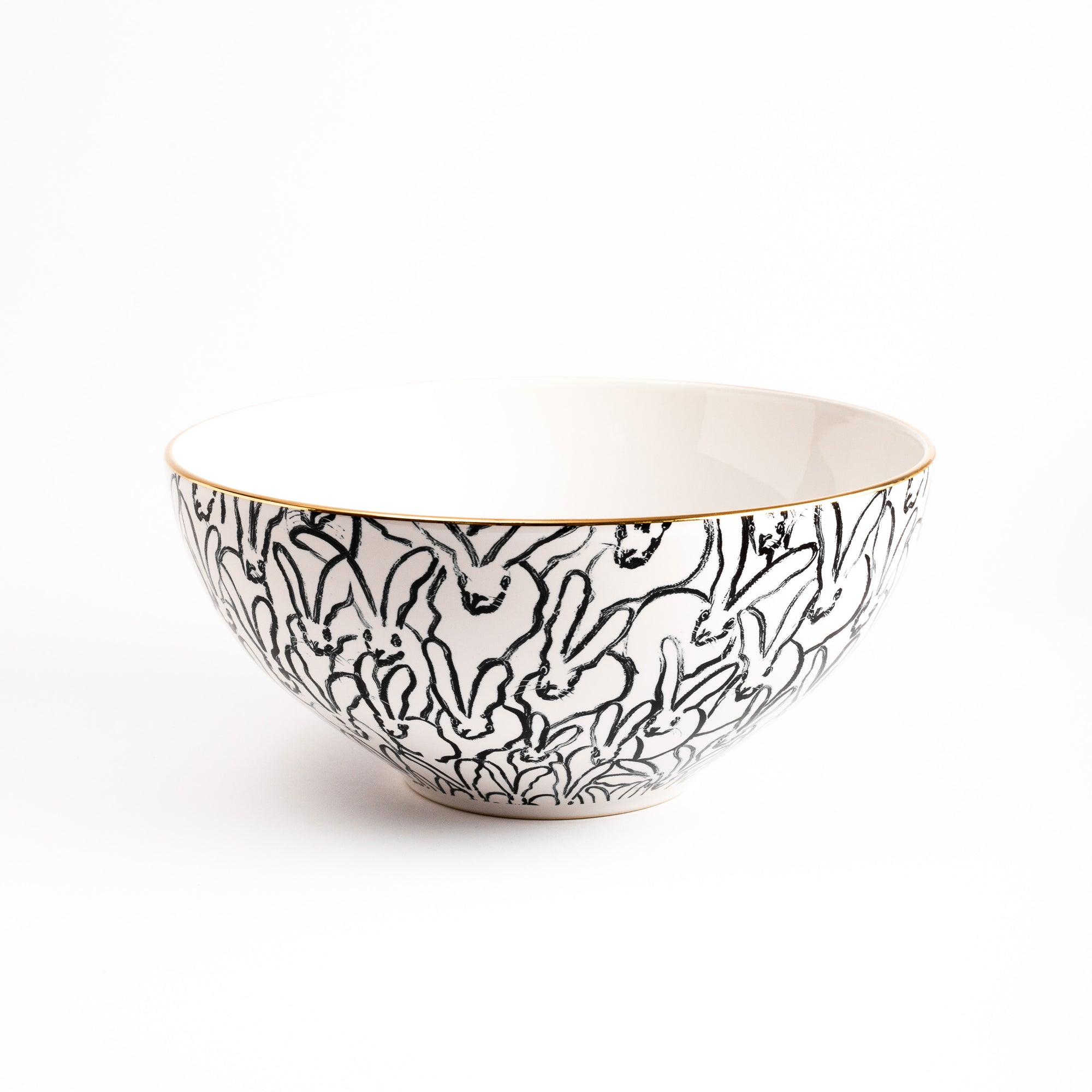 Rabbit Run Serving Bowl