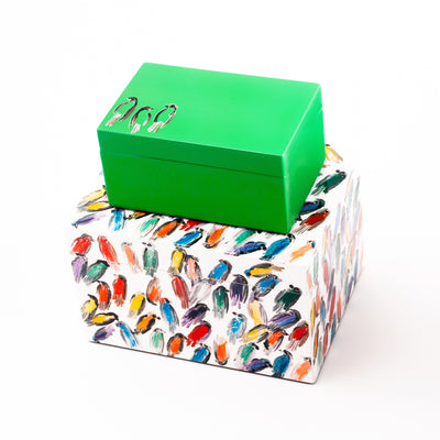 Finches Lacquered Box Set