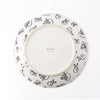 Rabbit Run Dinner Plate - Black