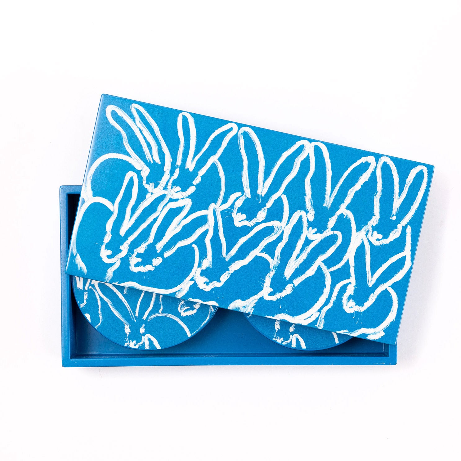 Bluesy Bunny Coaster Box Set
