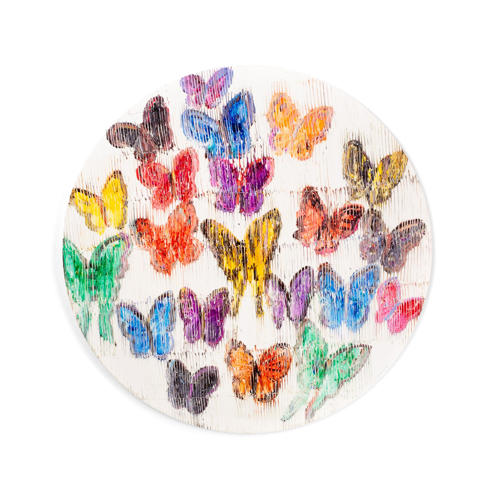 Spring Butterflies Lacquered Placemat