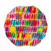 Rainbow Lories Lacquered Placemat
