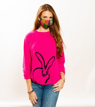 Begonia Bunny Cashmere Sweater