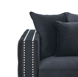 Moscow Chair - Black Velvet