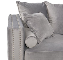 Load image into Gallery viewer, Moscow 2 Seater Sofa - Grey Velvet