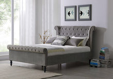 Load image into Gallery viewer, Ariel Bed - Grey