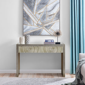 Frenso Console Table - Silver
