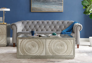 Frenso Coffee Table - Silver
