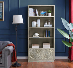 Frenso Bookcase - Silver