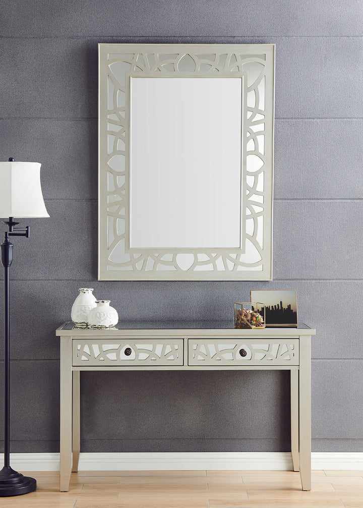 Gallo Console Table & Mirror