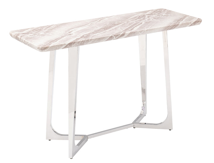 Lima Console Table - Real Marble Top