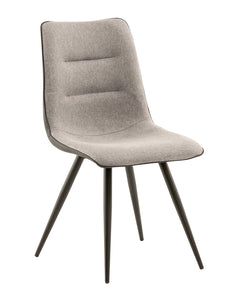 Nuna Dining Chair  - Grey (Set of 2)