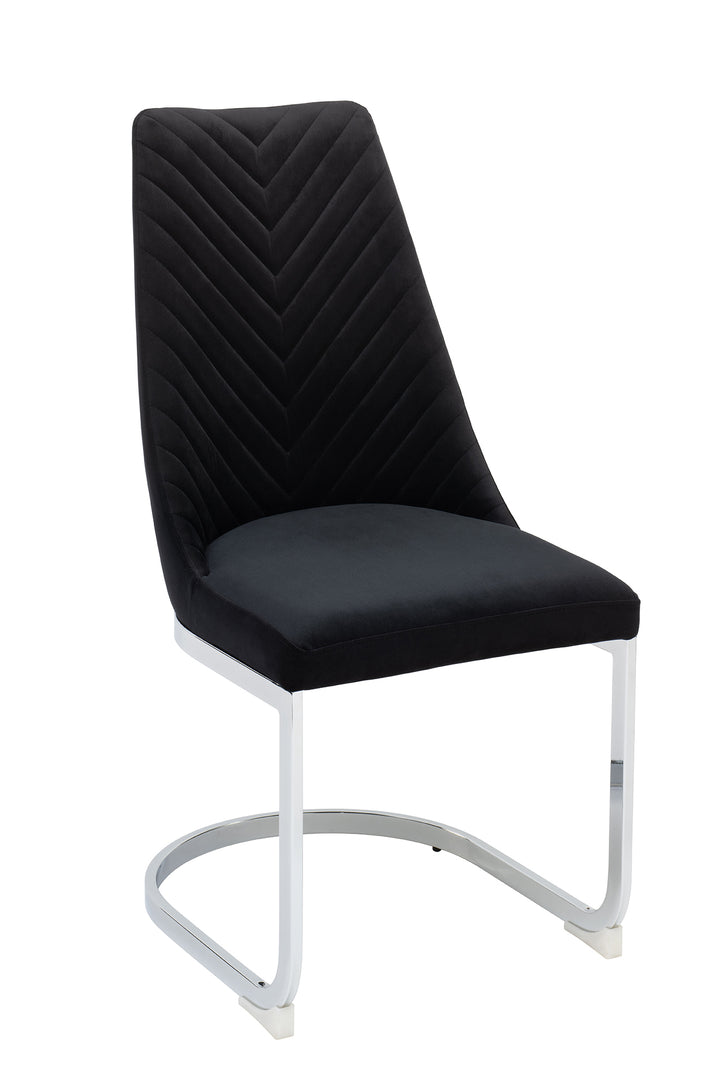 Wilton Dining Chair - Black (Set of 2)