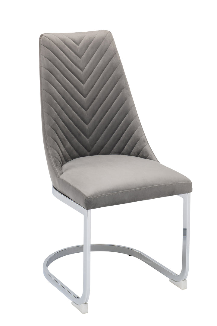 Wilton Dining Chair - Grey (Set of 2)