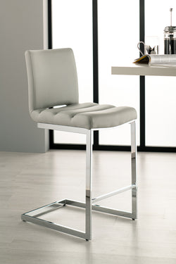Storm Bar Stool Chair - Grey