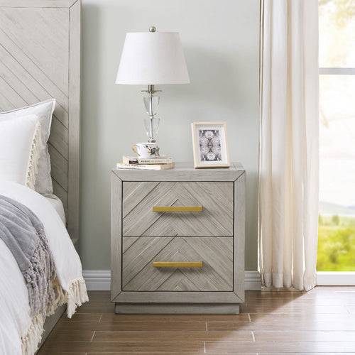 Gilroy 2 Drawer Side Table