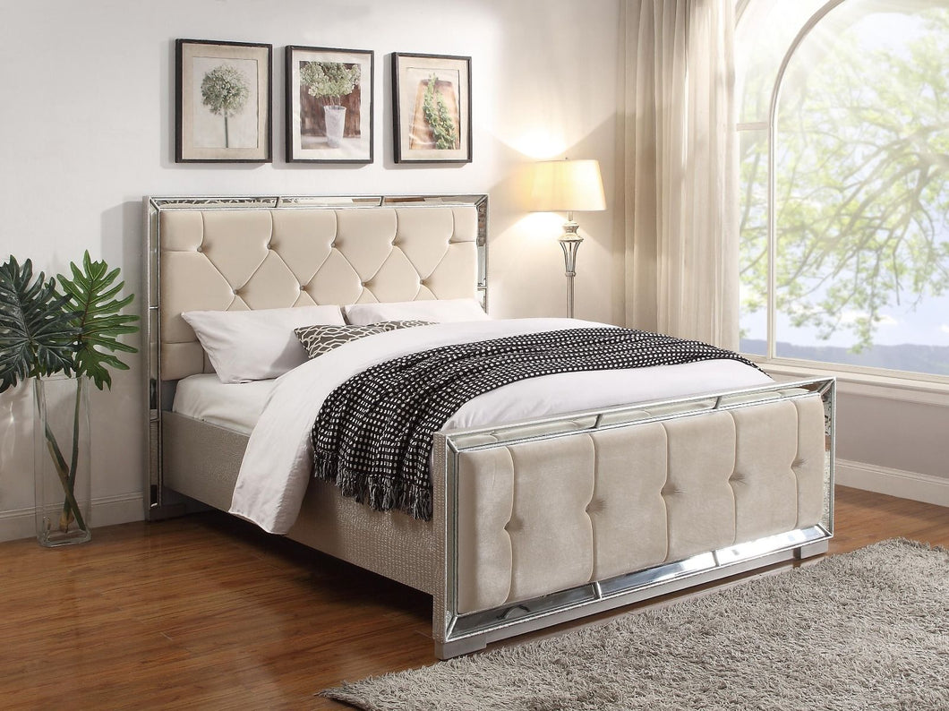 Sofia Bed - Cream