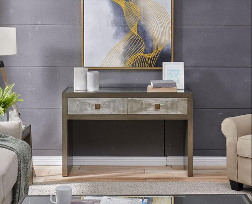 Nova Console Table & Mirror