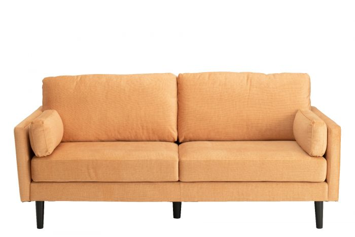 Teddy 3 Seater Sofa - Orange
