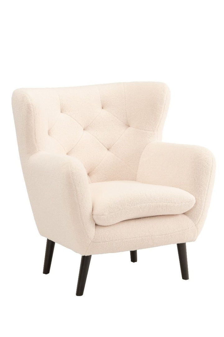 Yak Armchair - White Sheepskin