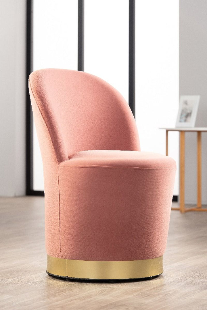 Audrey Cocktail Chair - Pink