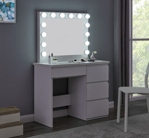 Hollywood Vanity Station - White