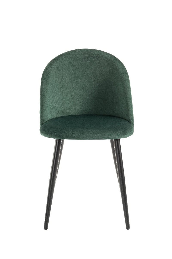 Lotus Dining Chair - Emerald Green  (Set of 4)