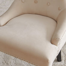 Load image into Gallery viewer, Lion Knocker Dining Chair-Cream Velvet