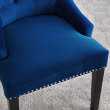 Load image into Gallery viewer, Lion Knocker Dining Chair-Royal Blue Velvet