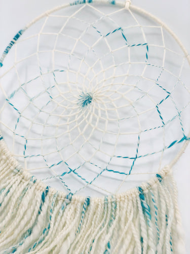 Boho Dreamcatcher Cream and Green
