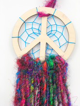 Load image into Gallery viewer, Peace sign Dream Catcher
