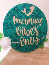 Load image into Gallery viewer, Mermaid Wall Plaque