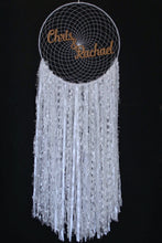 Load image into Gallery viewer, Personalised white Dreamcatcher