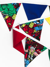 Load image into Gallery viewer, Superhero Bunting
